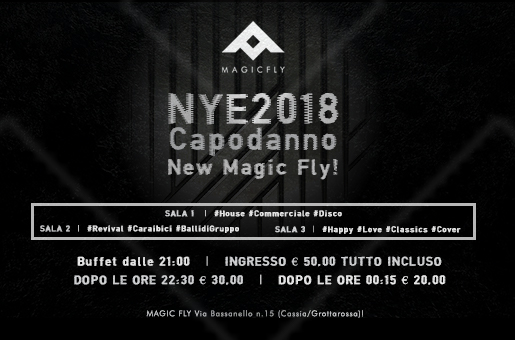 Capodanno Magic Fly 2018