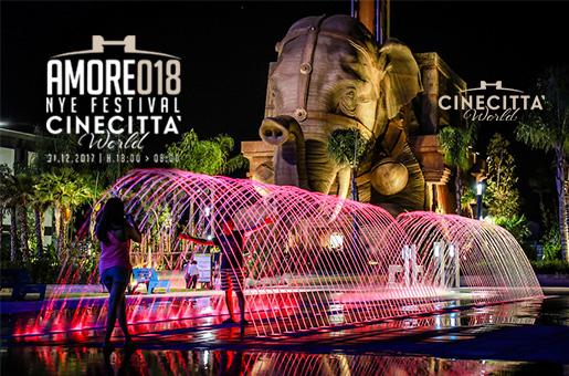 Capodanno Cinecittà World Parco Giochi 2018