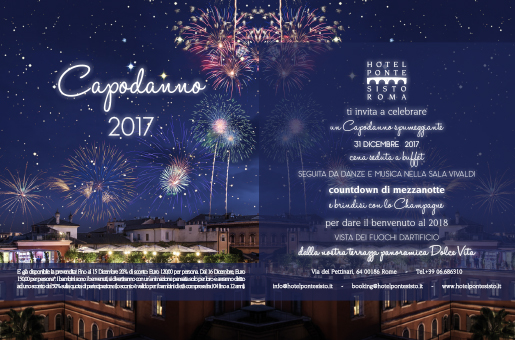 Capodanno Hotel Ponte Sisto Roma 2018