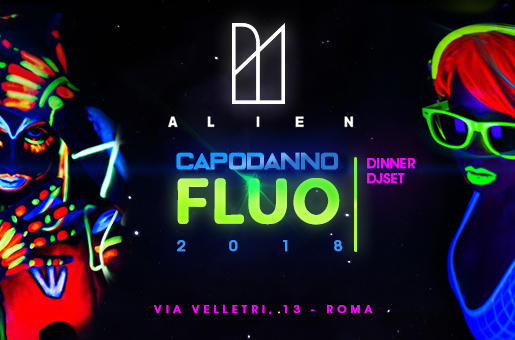 Capodanno Alien: Fluo Night