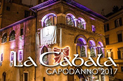 Capodanno La Cabala Roma 2017