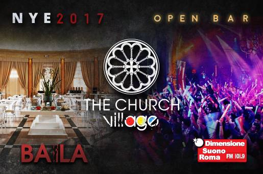 Capodanno The Church 2017