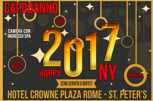 Capodanno Hotel Crown Plaza 2017