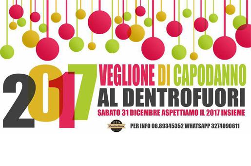 Capodanno Ristorante DentroFuori Grottaferrata 2017