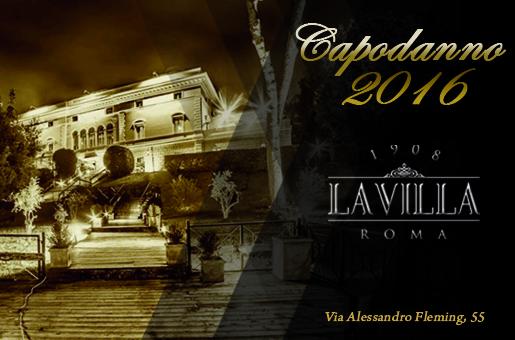 Capodanno Villa Fleming Roma 2016