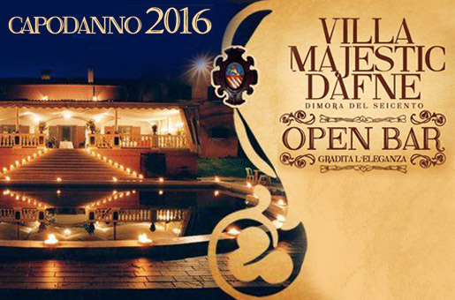 Capodanno Villa Majestic Roma 2016