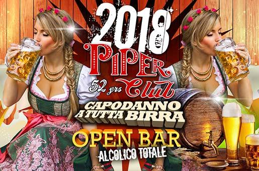 Capodanno Piper Roma 2018