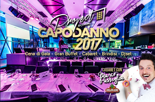 Capodanno Project Roma 2017