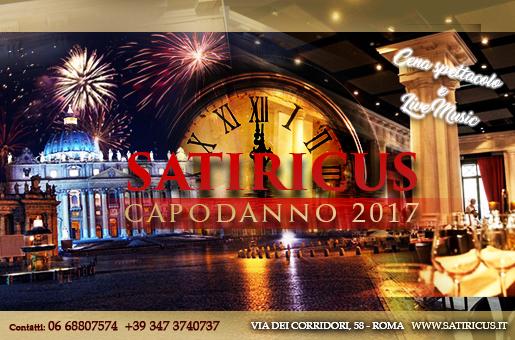 Capodanno Satiricus Roma 2017