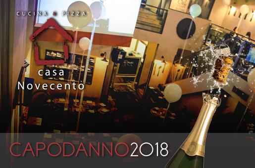 Capodanno Roma Casa Novecento 2018