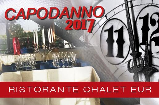 Capodanno Ristorante Chalet Eur Roma 2017