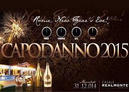 Capodanno Casale Realmonte Roma 2016