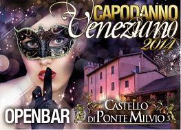Capodanno Castello di Ponte Milvio Roma 2016