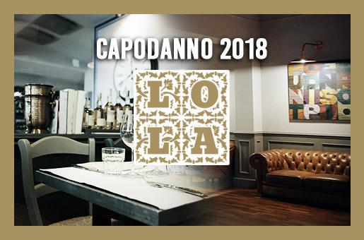 Lola Ristorante – Capodanno 2018