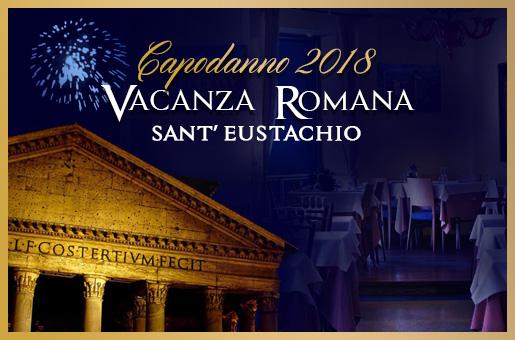 Capodanno Vacanza Romana Sant'Eustachio 2018